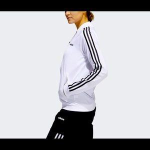 Adidas Dazzle Track Jacket White Black  FL4876